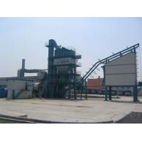 Quality Anti - Blocking Screen Asphalt Batch Mix Plant Italy Oli Motor 80T Hot Aggregate Silo for sale