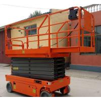 Tilt Protection Scissor Lift With Extendable Platform Proportional Control