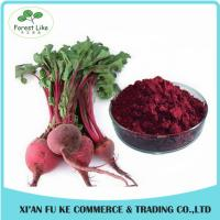 China 100% Water Soluble Natural Pigment Red Beet Juice Powder on sale