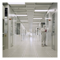 Quality Galvanized Sheet Class 100 Bio Pharmaceutical Cleanroom Design for sale