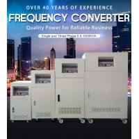 Buy cheap BP 3 Phase Input Ac Frequency Converter 3 Phase Custom Output 50Hz 60Hz 400Hz from wholesalers