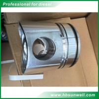 Quality Cummins 6BT diesel engine Piston 3957790 Komatsu S6D102 HART Piston kit 3957795  +0.50  6735-31-2111 for sale