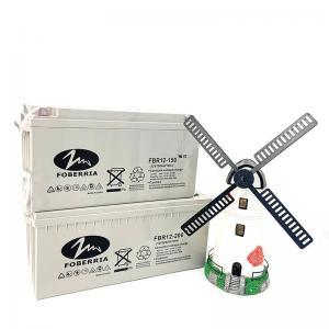 Quality 52kg 12v150ah AGM Lead Acid Battery Full Gel Deep Cycle for sale