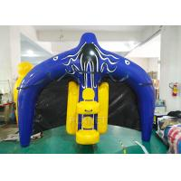 Quality Towable Inflatable Water Ski Tube Flying Manta Ray For Water Sport Games for sale
