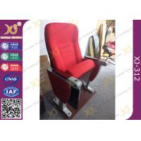 Quality Aluminum Base Church Hall Chairs With Painted Back / University Furniture for sale
