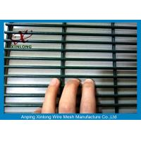 Quality Jail Powder Sprayed Coating High Security Fence Dark Green 2000 * 3000mm for sale