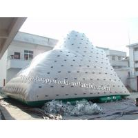 China giant inflatable iceberg water toy, inflatable pool iceberg iceberg float on sale