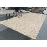 Quality Bamboo Green Artificial Granite Quartz Slab Countertops Stone Kitchen Tops for sale