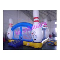 Quality Kids Fun Inflatable Bouncer Giant Tropical Bowling Ball Backyarkd For Playground for sale
