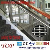 Quality SS security mesh/handrail mesh/interior decorative mesh for sale
