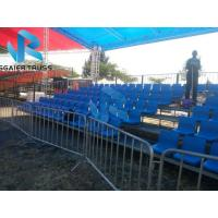 Quality temporary stadium seating Outdoor Steel Structural Grandstand Seating for sale