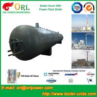 Quality Corrosion resistance oil steam boiler mud drum ISO9001 for sale