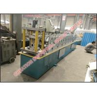 Quality Color Coated Steel Rain Gutter Forming Machine With Strong Structure for sale