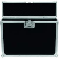 Quality Black 9mm Plywood / Rack Flight Case With Wheels / Storage Cases for Light for sale