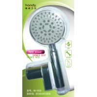 Buy cheap ABS Five Functions Shower Faucet Accessories , Chrome Plated Hand Shower with Hose / Bracket from wholesalers