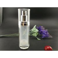 Quality double wall 30ml  acrylic cosmetic airless bottle for sale
