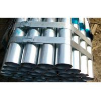 Quality SCH30 SCH40 Structural Steel Pipe Q195 Q235 , Zinc Coated steel tube ASTM A53 for sale