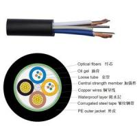 Quality Hybrid Fiber Cable/Hybrid Fiber Copper Cable/ Hybrid Optical Fiber Cable Copper/OPLC Hybrid Fiber Cable for sale