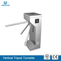 Quality Portable Vertical Tripod Security Gates , Pedestrian Turnstile Gate 35 Person / Min Speed for sale