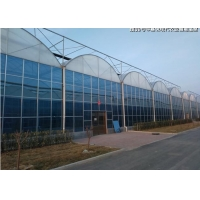 Quality Wind Resistance Polycarbonate Solar Panel Greenhouse for sale