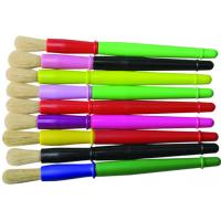 Buy 9 Colors Plastic Handle Paint Brushes , Colorful Watercolor Paint Brush Set OEM Avaliable at wholesale prices