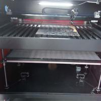 China Computer Embroidery Laser Cutting Machine Water Cooling And Protection System on sale
