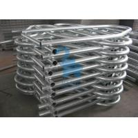 Quality Silver Durable Self Locking Cattle Feed Barriers Cattle Handling Gates For Husbandry Farm for sale