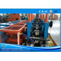 Quality Cold Rolled Coil SS Tube Mill Machine , Square Tube MillFriction Saw Cutting for sale