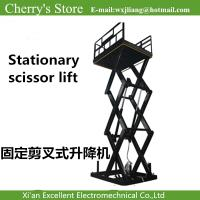 China Stationary scissor lift  elevator parts on sale