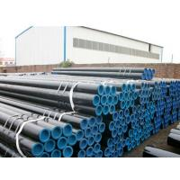 Quality Black Painting Thick Wall Steel Pipe , 21 ~ 610mm OD Hot Rolled Steel Tube for sale