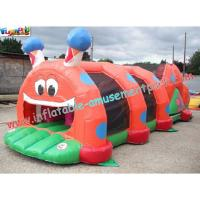 China Rent Inflatable tunnel, Fun Inflatables Obstacle Course Games for Adults and Children on sale