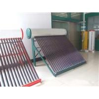 China haokang compact unprsssurized solar water heater with different design styles on sale