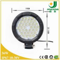 Quality Excellent performance IP67 10-30V DC 36W spot/flood beam Epistar led work light for sale