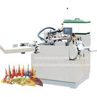 China HXGA Paper Cone Cup Forming Machine on sale