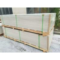 Quality Square / Recessed Edge Exterior Fiber Cement Board Reinforced Shatter Resistant for sale