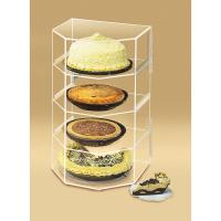 China tabletop acrylic bakery display case on sale