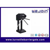 Quality Subway Station Electric Double Turnstile Mechanism , Vertical Type for sale