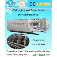 China Fully Automatic Corrugated Carton Box Rotary Die Cutting Machine 30kw on sale