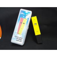 Quality China Cheepest waterproof PH temp meter pen type of PH with ATC for sale