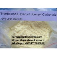 Buy cheap Powerful Muscle Building Anabolic Steroid Powder Trenbolone Hexahydrobenzyl Carbonate (Parabolan) from wholesalers