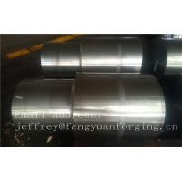 Quality 42CrMo4 SCM440 AISI 4140 Alloy Steel Forged Shaft Blanks Quenching And Tempering Rough Machining for sale