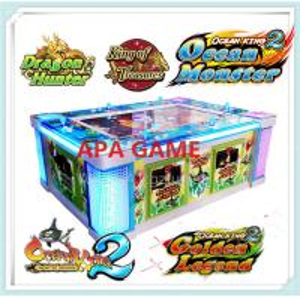 Quality IGS Lobster King Dragon king ocean king 2 monster revenge arcade video fish hunter fishing game machine for sale