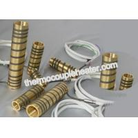 Quality Customized Electric tube Heaters / Hot runner brass pipe heater , CE approved for sale