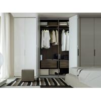 Quality wooden color wardrobe foshan modern clothes good price multifunction wardrobe for sale