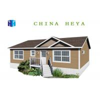 Quality Three Bedrooms Energy Efficient Prefab Homes / Prefab Modular House 130 Square Meters for sale
