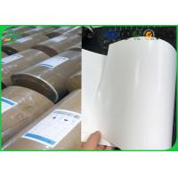 Quality Size Customized C1s Food Grade Paper Roll 72 gsm - 90gsm For Food Package for sale