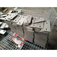 Buy cheap Cr18 Feed Chute Liner Wear-resistant Castings AS2027 Hardness More Than HRC52 from wholesalers