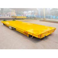 Quality large table electric steel coil handling railway trailer precise pipe industry for sale