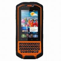 Quality Rugged Touchscreen Smartphone with Dual SIM, IP67 Waterproof Grade and Android OS for sale