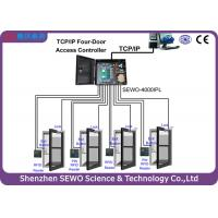 Quality TCP and IP 4 Door  Access Controller  Multi Door RFID Gate Access Control System for sale